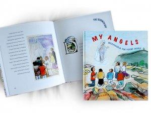 My Angels Children Kids MEDJUGORJE hardcover book Meine Engel Kinder B�CHE