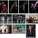 The Avengers - 10 glossy PRESS PHOTOS Scarlett Johansson, Jeremy Renner