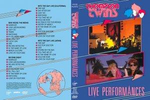 Thompson Twins Live 4x CONCERT, 2 DVD rare videos Tom Bailey