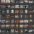 105 digital hi-res PRESS PHOTOS Dictator, Borat, Sacha Baron Cohen, promo collectible rare