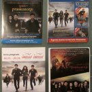 4 Croatian MOVIE PROGRAMS Twilight Saga: Breaking Dawn Part 2, promo collectible Stewart Pattinson