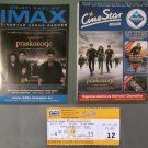 Croatian IMAX movie PROGRAM + TICKET stub + PRESS Photo promo Twilight: Breaking Dawn part 2 II