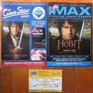 Croatian IMAX movie PROGRAM + TICKET stub + PRESS Photo promo The Hobbit