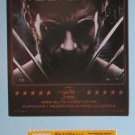 MOVIE PROGRAM + TICKET stub Croatia, The Wolverine, Hugh Jackman promo