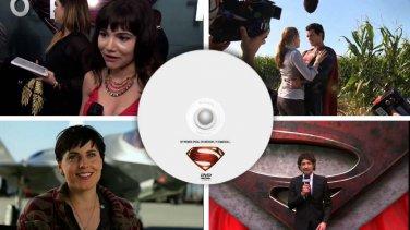 Man of Steel DVD unreleased TV Promos EPK Press specials Superman like Target Walmart extras