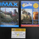MOVIE PROGRAM + TICKET stub Croatia, Transformers age of extinction promo