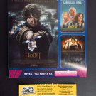 Croatian movie PROGRAM + TICKET stub promo The Hobbit The Battle of the Five Armies