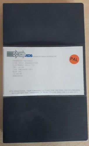 Star Trek Insurrection EPK Video Press kit Betacam SP broadcast tape promo collectible