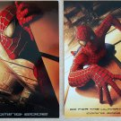2x Spider-Man TWIN TOWERS advance postcards (2001) recalled RARE collectible