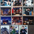 "12 Press photos 8x10"" Stallone Jean Claude Van Damme Muhammad Ali James Belushi Planet Hollywood"