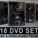 16 DVD set RARE TV promos Alien Aliens AVP Prometheus collectible 6 hrs