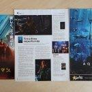 JAPAN poster CROATIA magazine clippings Wonder Woman Aquaman Batman v Superman Dark Knight RisesDC