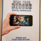 Digital copy download PC Mac iTunes Star Trek Beyond from UK Blu-ray