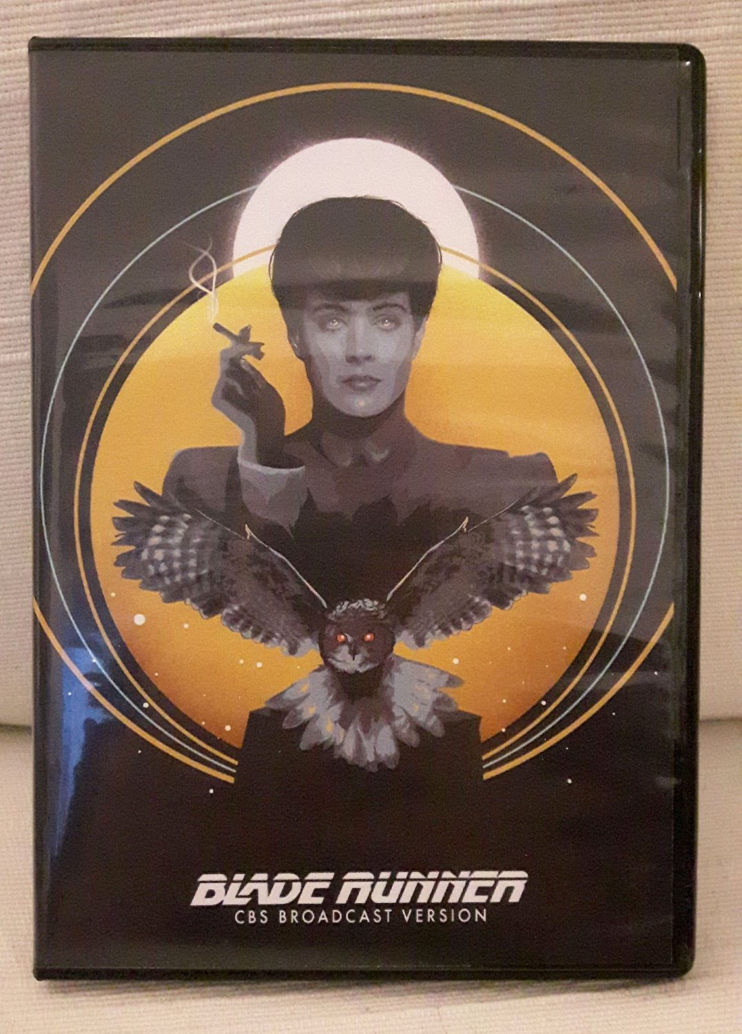 CBS broadcast version Blade Runner DVD video RARE unreleased collectible TV cut Harrison Ford