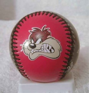 RED Looney Tunes Tasmanian Devil TAZ Baseball