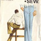 KWIK SEW 411 PATTERN FOR MEN'S JEANS IN SIZE 36