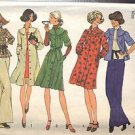 SIMPLICITY PATTERN 7050, DATED 1975 MISSES' DRESS OR TOP SIZE MEDIUM 12-14