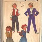 SIMPLICITY PATTERN 7017, DATED 1975 GIRL'S PANTS, SKIRT, JACKET, VEST SIZE 5