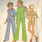 SIMPLICITY PATTERN 6824 SIZE 7 DATED 1974, GIRL'S SHIRT, PANTS AND SHORTS