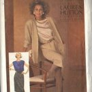 SIMPLICITY 6645 SIZE 10 & 12 PATTERN DATED 1984 SKIRT, JACKET & TOP