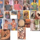 QUICK & EASY CROCHET MAGAZINE, SUMMER 1986, 93 PAGES OF IDEAS