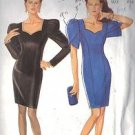 NEW LOOK PATTERN 6635 UNDATED COCKTAIL OR BRIDESMAID DRESS SIZES 6 & 8