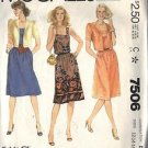 McCall's Pattern 7506 dated 1981 Misses' Dress and Jacket size 12