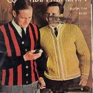COLUMBIA MINERVIA MEN AND BOYS SWEATER PATTERNS TO KNIT