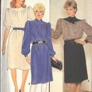 BUTTERICK PATTERN 6095 MISSES' DRESS 3 VARIATIONS SIZE 12 UNCUT