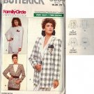BUTTERICK PATTERN 6084, MISSES' JACKET 2 variations SIZES 18-20-22
