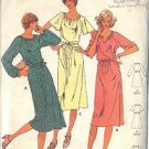 BUTTERICK PATTERN 6052 MISSES' DRESS AND BELT 3 VERSIONS SIZE 10
