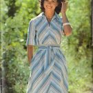 BUTTERICK PATTERN 5853, MISSES' DRESS AND BELT SZ 16