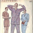 BUTTERICK PATTERN 5546 MEN'S PAJAMAS IN THREE VARIATIONS SIZE 38-40