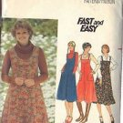 BUTTERICK PATTERN 5546 MISSES' JUMPER IN FOUR VARIATIONS SZ 16