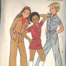 BUTTERICK PATTERN 5511 FOR GIRLS' JUMPSUIT IN 3 VARIATIONS IN SIZE 10 UNCUT
