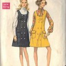 BUTTERICK PATTERN 5473 MISSES' JUMPER SZ 14