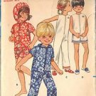BUTTERICK PATTERN 5290 BOYS' OR GIRLS' JUMPSUIT IN TWO LENGTHS IN SIZE 2