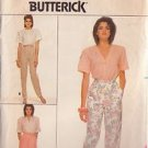 BUTTERICK PATTERN 3694 MISSES' SKIRT AND PANTS SIZES 8, 10, 12