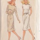 BUTTERICK PATTERN 3661 MISSES' DRESS IN 2 VARIATIONS SIZES 10-12-14 UNCUT
