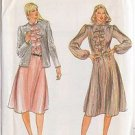 BUTTERICK PATTERN 3516 MISSES' JACKET AND DRESS SZ 12 UNCUT