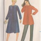 BUTTERICK PATTERN 3393 MISSES' MATERNITY DRESS AND TOP SZ 16 UNCUT