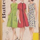 BUTTERICK PATTERN 2940 SIZE 11 JUNIOR & MISSES' FRONT PLEATED DRESS