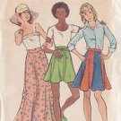 BUTTERICK PATTERN 2235 MISSES' SKIRTS IN 2 VARIATIONS SIZE 26 WAIST