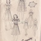 BUTTERICK PATTERN 8465 JUNIOR/GIRL'S' 1 PIECE FROCK IN 3 VARIATIONS SIZE 10