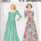 SIMPLICITY PATTERN 9154 MISSES' DRESS IN 2 VARIATIONS SIZES 6 THRU 12