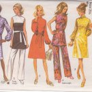 SIMPLICITY PATTERN 9125 MISSES' DRESS, TUNIC AND PANTS SIZE 12