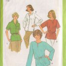 SIMPLICITY PATTERN 9045 MISSES' TUNICS AND TIE BELT 4 VARIATIONS SZ 10
