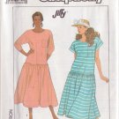 SIMPLICITY PATTERN 9043 MISSES' DRESS IN TWO VARIATIONS SIZE 6-8