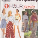 SIMPLICITY PATTERN 9038 MISSES' SET OF PANTS OR SHORTS SIZES XS, SM, MD
