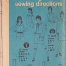 SIMPLICITY PATTERN 8883 MISSES' JUMPER AND BLOUSE SIZE 10